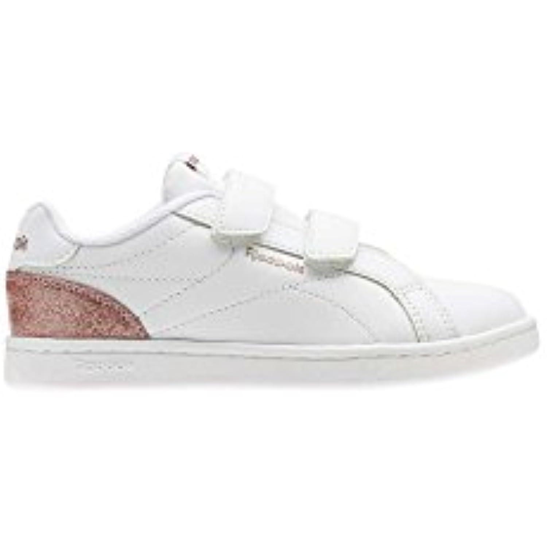Reebok REEBOK V ROYBL Comp CLN 2 V REEBOK – Scarpe da ginnastica, Bambina, Bianco – , white/Rose Gold Sparkle) Parent 048b30
