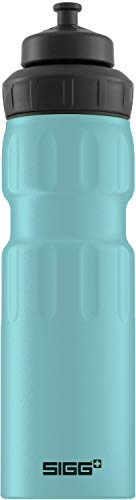 Sigg Unisex- Erwachsene WMB Sports Denim Touch Wasserflaschen, Blau, 0.75 -