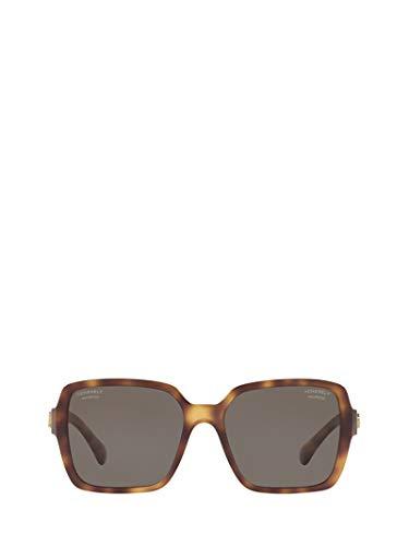 Chanel luxury fashion donna ch5408166283 marrone occhiali da sole | primavera estate 19