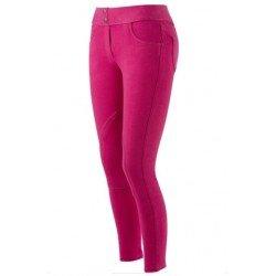 Equi-Theme/Equit'M 979101734- Pantalon d'équitation à Enfiler, Unisexe, Bleu Marine avec...