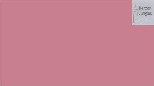 Wachsplatte altrosa 20x10 - 9718 - Verzierwachsplatte 200x100 mm für Kerzen