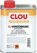 Clou EV-Verdünnung für Holz und Siegellack: Aromatenfrei, Löse- und Verdünnungsmittel, entfetten von Holzoberflächen, 750ml