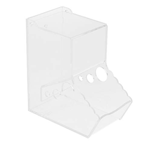 F Fityle Caja De Alimentación Automática del Alimentador del Dispensador del Alimento para Animales para La Ardilla del Conejo del Hámster - Estilo 1