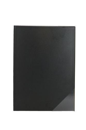 Chormappe / Notenmappe / Gesangsmappe drei Dreieckstaschen (Made in Germany) (schwarz)