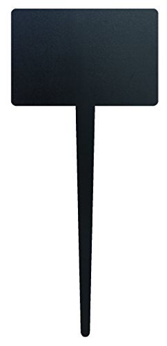Securit  SilhouetteTag Kreidetafel inklusive 1 weißer Kreidestift (5.er Set)
