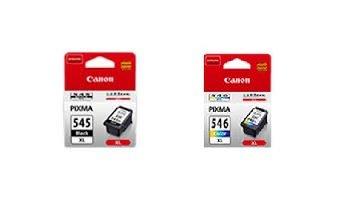 Lot d'origine à haut rendement pour Canon PG - 545 545XL XL Noir et CL - 546XL (546 XL tricolore ordinateur