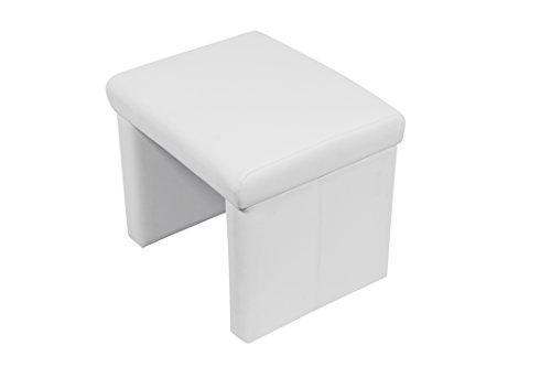 Möbel Akzent Sitzgelegenheiten (Cavadore gepolsterter Hocker