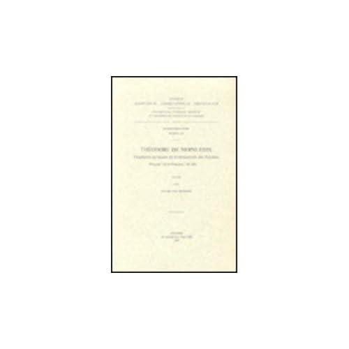 Theodore De Mopsueste. Fragments Syriaques Du Commentaire Des Psaumes Psaume 118 Et Psaumes 138-148. Syr. 189.