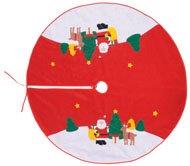 555R900 - Faldón Árbol Noel 120 Cm Decor