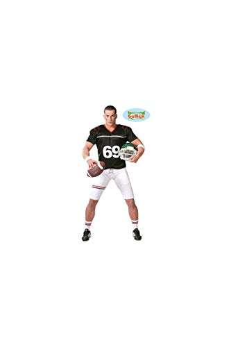 Quarterback Football Spieler - Kostüm für Herren Karneval Fasching Sport Gr. M - XL, ()