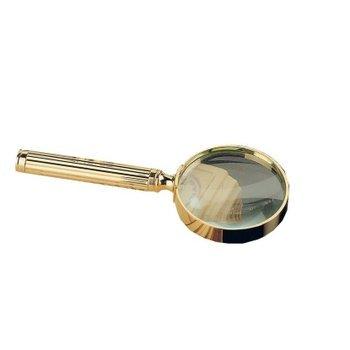 Vergrößerungsglas - 23-Karat vergoldet