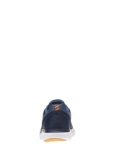 Reebok Bd2203, Scarpe da Trail Running Uomo Blu (Collegiate Navy/Brave Blu/Wht/Wild Orng/)