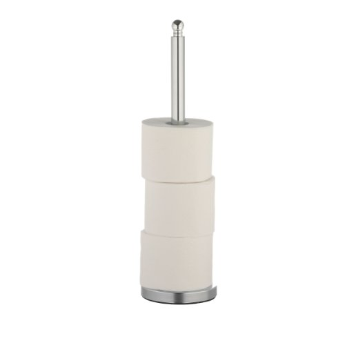 axentia wc ersatzpapierrollenhalter verchromter toilettenpapierrollenhalter 51cm hoch. Black Bedroom Furniture Sets. Home Design Ideas