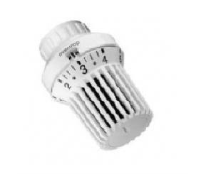 Oventrop Thermostatkopf UniXD passend für Danfoss Baureihe RA mit Klemmverbindung weiß