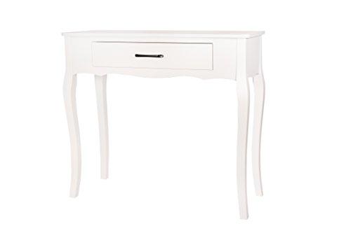 Konsolentisch Konsole weiß Landhaus WS453