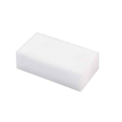 Fulltime 25pcs Magie éponge Gomme Nettoyage mélamine Mousse nettoyant Pad-Blanc