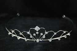 Diamante Tiara para boda fiesta de gala accesorio del pelo mujer
