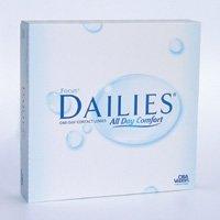 Focus Dailies 90er Box, Radius: 8.6, Durchmesser: 13.8, Dioptrien: -3.00