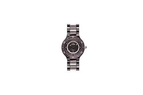 Charmex San Remo Homme 43mm Noir Céramique Bracelet Date Montre 2696