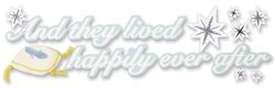 Jolee's Cinderella Wedding Collection Title Stickers, And They Lived Happily Ever After by Jolee's Boutique