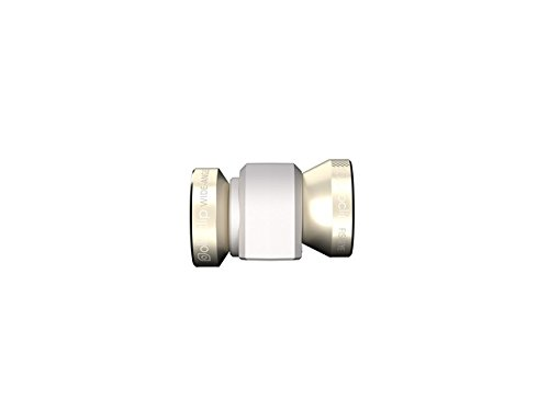 olloclip IPH5-FW2M GDW Objectif D'appareil Photo - 4-in - 1 pour iPhone 5/5S - Doré, Blanc, Apple iPhone 5/5S