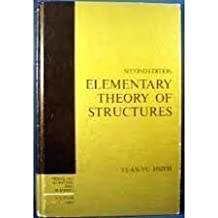 Elementary Theory of Structures by Yuan-Yu Hsieh (1987-10-01)