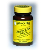 Natures Plus QUERCETIN PLUS WITH VIT C AND BROMELAIN compriméS 90