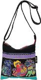 laurel-burch-laurel-burch-artistic-totes-crossbody-10-by-10-inch-dogs-and-doggies