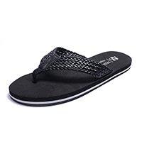 BEEST-Männer Fuß flip flops einfach Dick unten Flip Flops, große Code per Drag & Drop. Black