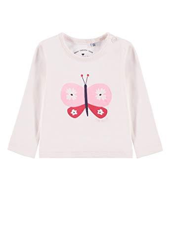 TOM TAILOR Kids Baby-Mädchen T-Shirt Placed Print Langarmshirt, Rosa (Ballet Slipper 2501), 62 -