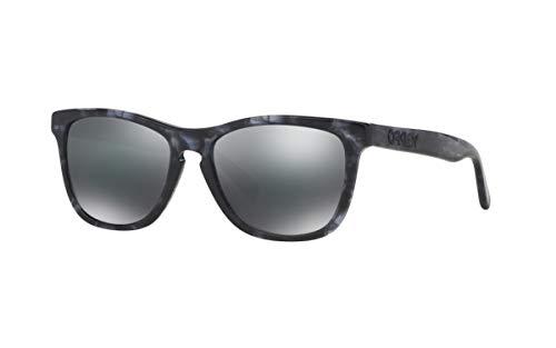 Oakley Herren Sonnenbrille Frogskins LX Dak Grey Tortoise BlkIrid