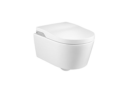 Roca A803060001 - In-wash - smart toilet suspendido rimless con salida a pared. incluye tapa y asiento. necesita toma de red
