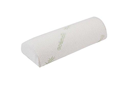 Langsam Rebound Raum Speicher Cotton Kissen, Halbkreisförmige Health Care Beinkissen - Verbesserung der Schlafqualität , light green (Light Green Hosenträger)