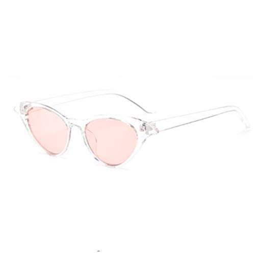 GJYANJING Sonnenbrille Cat Eye Sonnenbrillen Damen Designer Empfehlen Cateyes Sonnenbrillen Transparenter Rahmen Durchsichtige Brille Für Frauen