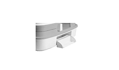21A78ZaentL - Thetford 92828 Porta Potti 335 Portable Toilet, White-Grey 313 x 342 x 382 mm