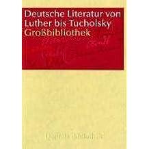 Deutsche Literatur von Luther bis Tucholsky (DVD-ROM)