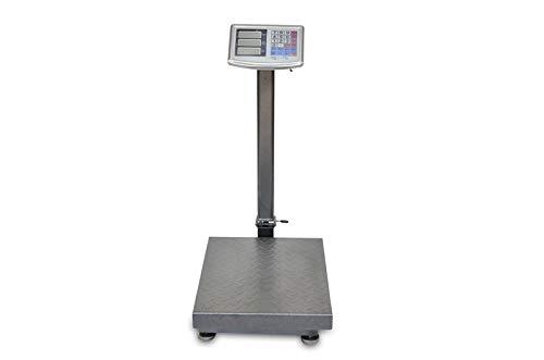 Bascula Industrial De Plataforma 40x50Cm Balanza Digital Reforzada 300Kg Plegable ...