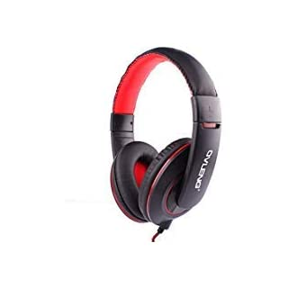 AutumnFall 3.5mm Earphone Wired Gaming Headset Headphones for PS4 PC Laptop Phone PUBG (Black)