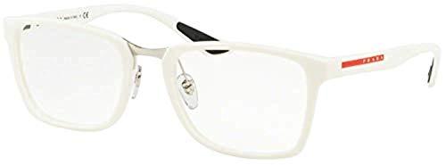 Ray-Ban Herren 0PS 06LV Brillengestelle, Weiß (White Rubber), 55