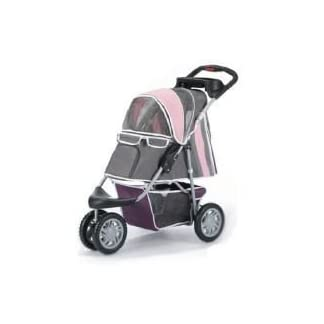 Pet Stroller,IPS-09,Pink/Grey, Dog carrier, trolley, Trailer, Innopet, Buggy First Class. Fold able pet buggy, pushchair… 7