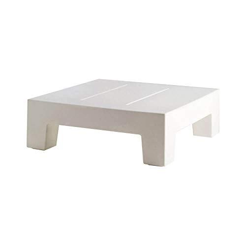 Vondom Jut mesa baja de exterior blanco para tumbona: Amazon.es ...