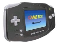 Game Boy Advance Noir