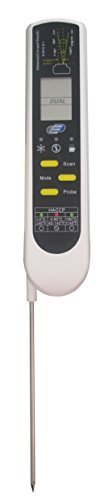 Dual-digital-thermometer (TFA 31.1119 Einstich-Infrarot-Thermometer Dual-Temp-PRO)