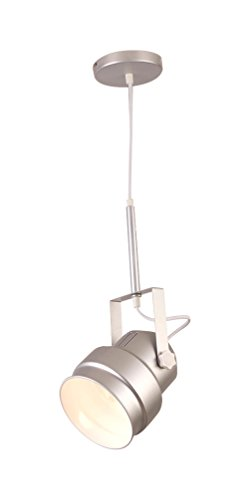 interfan-51182-lmpara-colgante-de-plafn-foco-de-color-plata