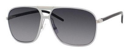 Dior Homme 53J Silber Al13.4 Square Aviator Sunglasses Lens Category 3