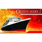 Glow2B Heller 52902 Modellbausatz Queen Mary 2 Kit