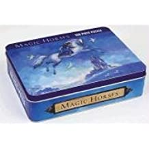 Magic Horse 100-piece Puzzle in Collectable Tin