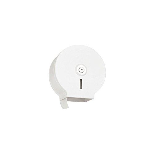 Jofel Chapa Midi Jumbo Dispensador de papel higiénico Chapa de acero blanco