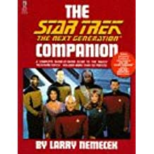 The Star Trek the Next Generation Companion (Star Trek (trade/hardcover))