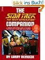 The Star Trek the Next Generation Companion (Star Trek (trade/hardcover))